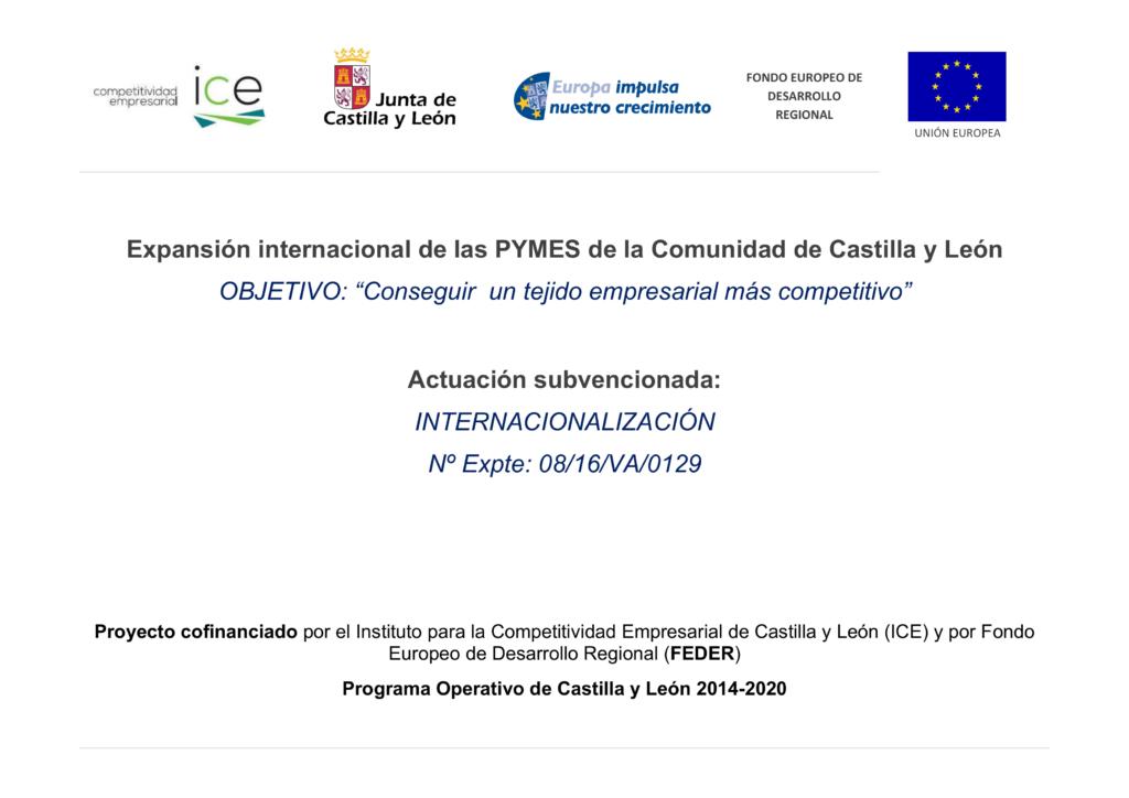 Expansión internacional de las PYMES en Castilla y León